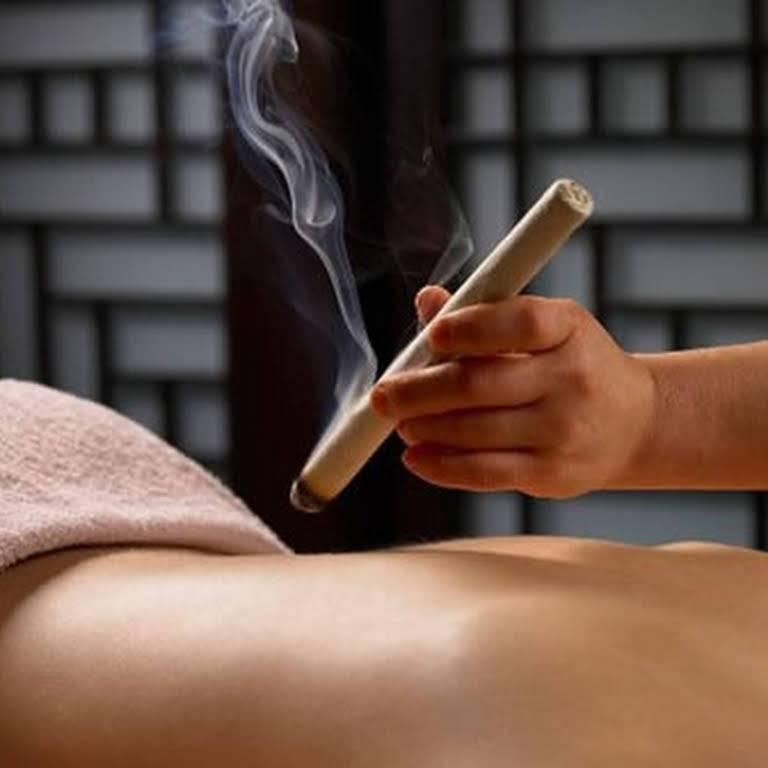 moxibustion moxa terapia cadiz