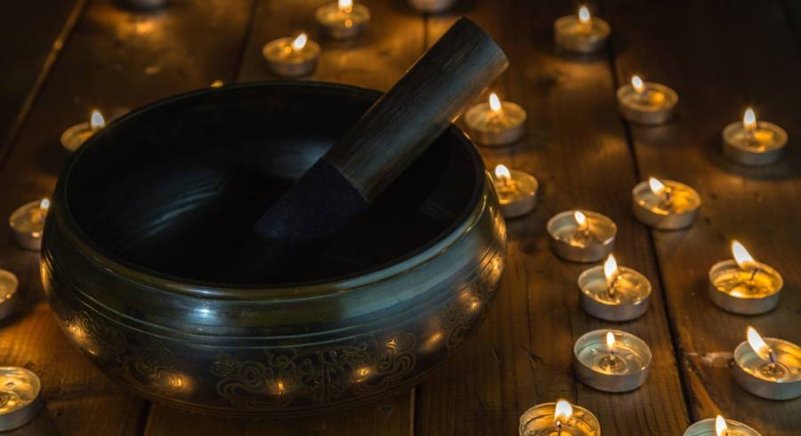 Cuencos Tibetanos San Fernando lluvia de sonidos